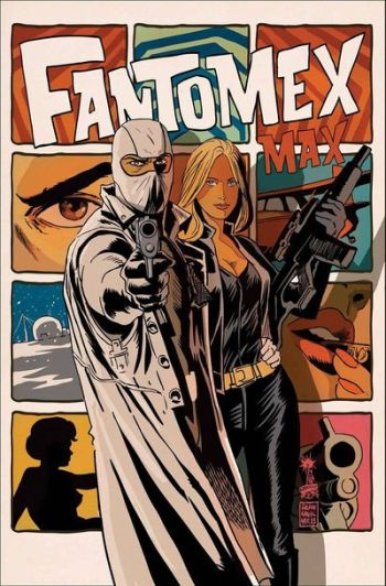While I may not have enjoyed the story as much as I had hoped to, this cover was fantastic.  It has everything.  Intrigue, suspense, and silhouetted nipples!  How could you go wrong?!?  Francavilla will always be one of my personal favorite artists.
