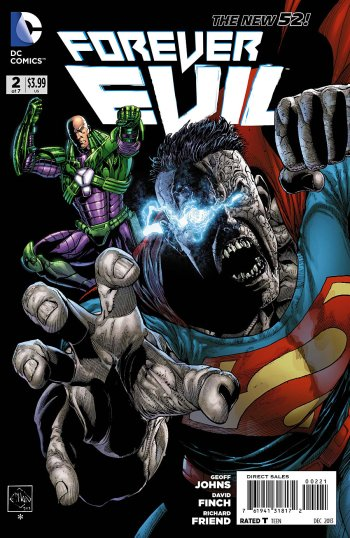 Fun cover that blows the regular David Finch one out of the water.