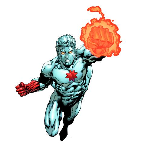 captain atom height