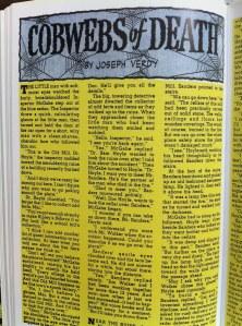 """Cobwebs of Death"" by Joseph Verdy"