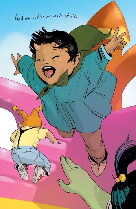 It is pure delight to have this series back--Cosmo from Saga #19