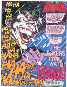 Batman 251 Joker opening Adams