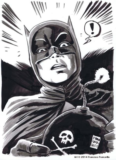 Batman 66 by Francesco Francavilla
