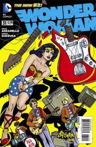 Wonder Woman Allred variant