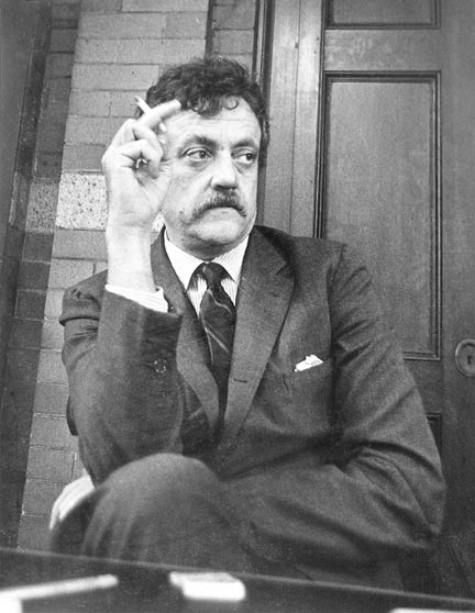If things had happened differently, Kurt Vonnegut might have written comics for Marvel.