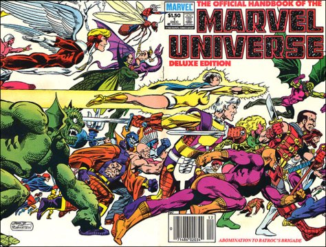 Marvel Universe Cover