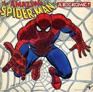 Cover for The Amazing Spider-Man:  A Rockomic:  From Beyond the Grave