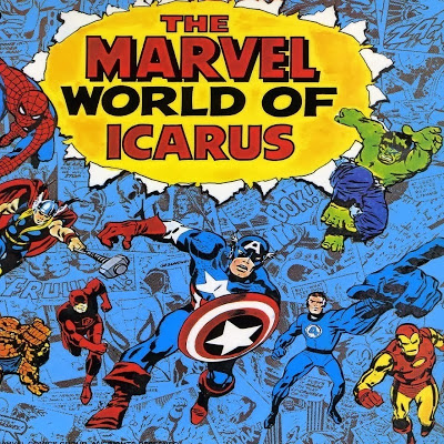 Album cover for THE MARVEL WORLD OF ICARUS