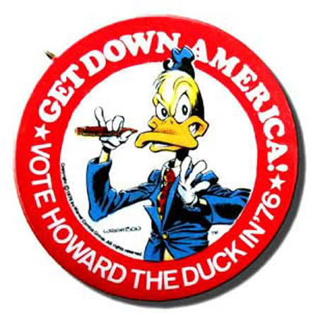 Vote Howard the Duck