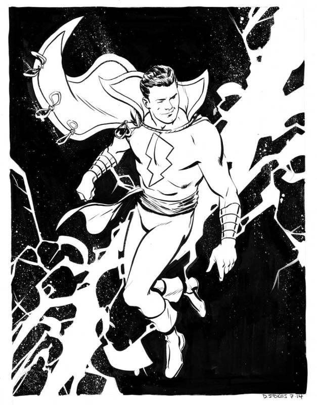 Captain Marvel David Stokes