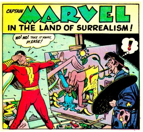 Captain Marvel Land of Surrealism