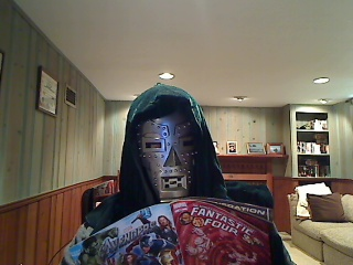 Dr Doom Reads Comic