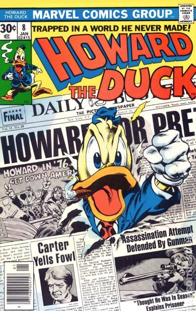 Howard the Duck 8 Gene Colan