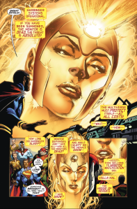 Using elements of both Crisis of Infinite Earths and Action Comics