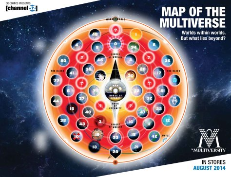 Map of the Multiverse