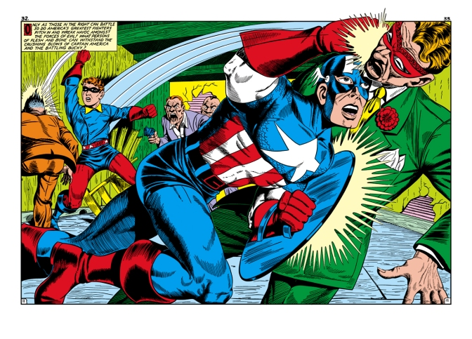 Captain America and Bucky work together in the comics, but not in the Republic Pictures movie serial.