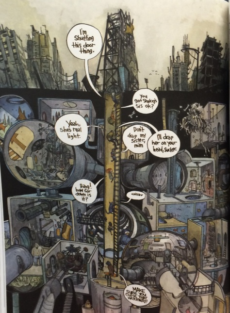 Man this detail-Pat from Wrenchies #1 by Farel Dalrymple