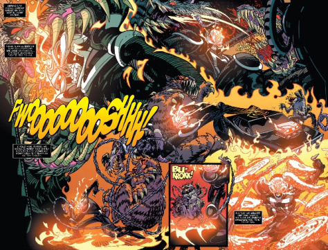 Let's get this party started-Pat from All New Ghost Rider #7 by Damion Scott