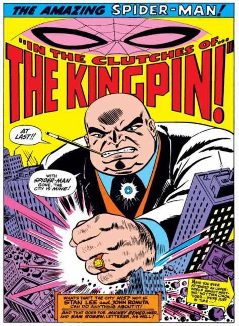Kingpin Amazing Spider Man 51