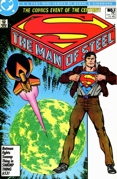 Man of Steel 1 cover