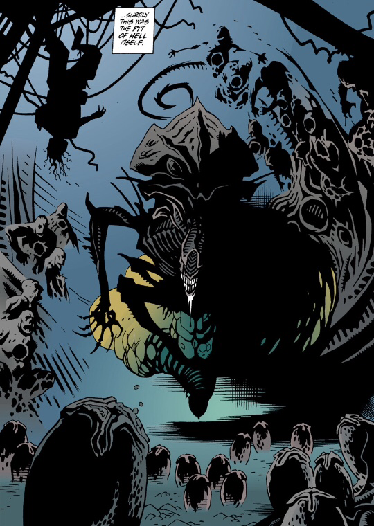 Lost In Continuity: Gibbons & Mignola Aliens Salvation