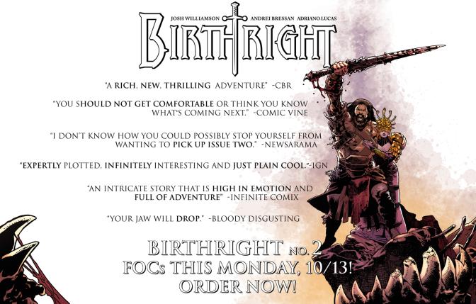 This Week's Finest – Birthright #2