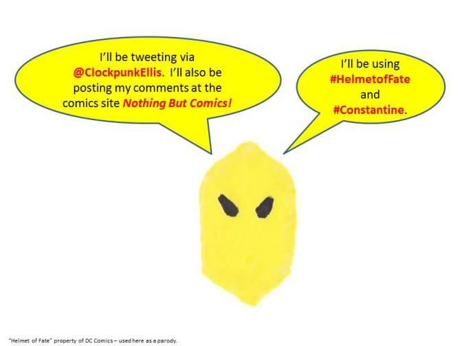 #CONSTANTINE – The Helmet of Fate Live Tweets Constantine
