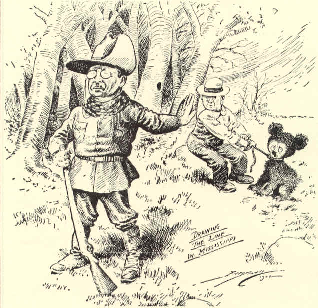 FRIDAY FLASH FACT – The Political Cartoon that Inspired the Creation of the Teddy Bear