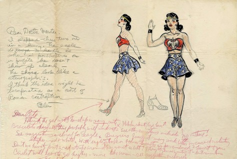 Wonder Woman Concept Art Peter and Marston