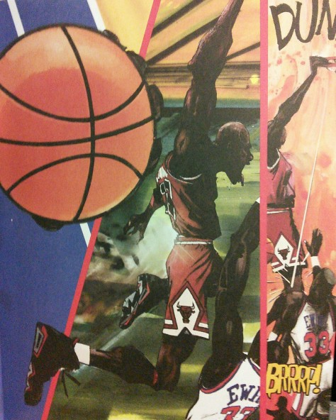 Bet you didn't see this coming-Pat from Michael Jordan: Bulls On Parade by Wilfredo Santiago