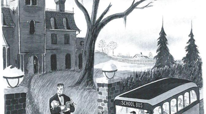 """A Ghoul in a Maternity Room"" – The False Legend of a Charles Addams Cartoon"