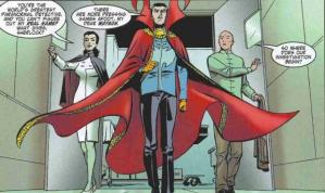 Doctor Strange The Oath setting out