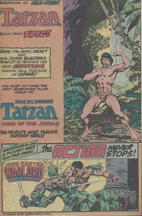 Tarzan John Carter