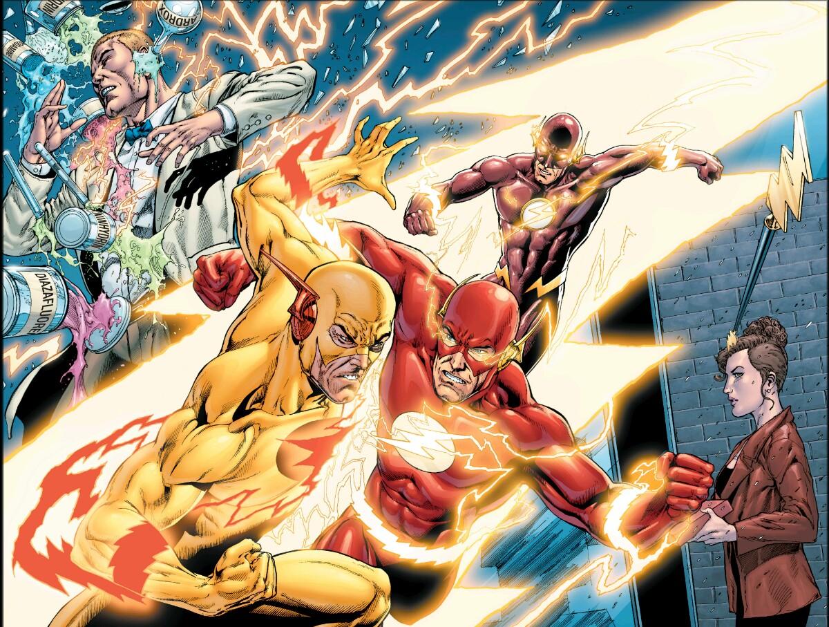 reverse flash vs professor - photo #29