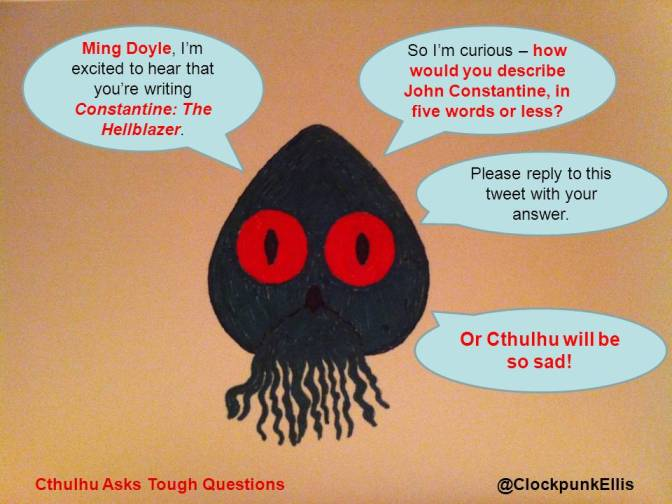 Cthulhu Asks Tough Questions – The Ming Doyle Interview