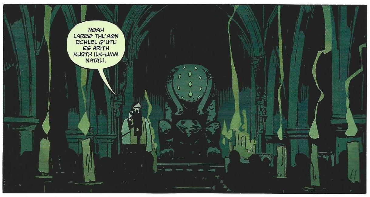 Magic Words: The Use of Arcane Language in Weird Comics | Nothing