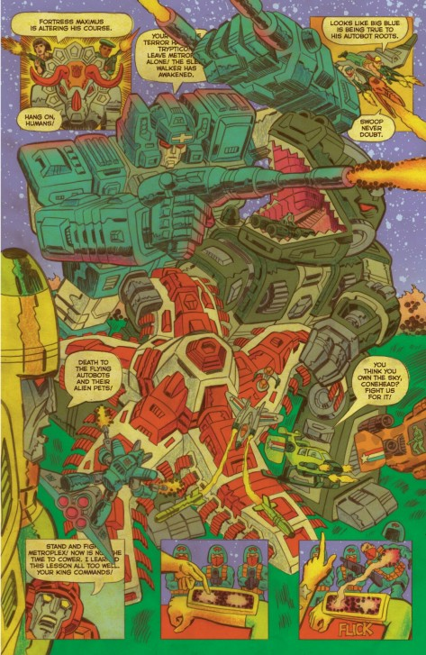 Epic!-Pat from Transformers vs GI-Joe #5 by Tom Scioli