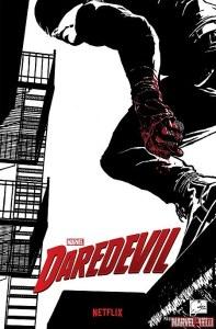 Daredevil Netflix poster Joe Quesada