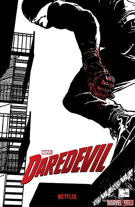 Daredevil Netflix poster Joe Quesada