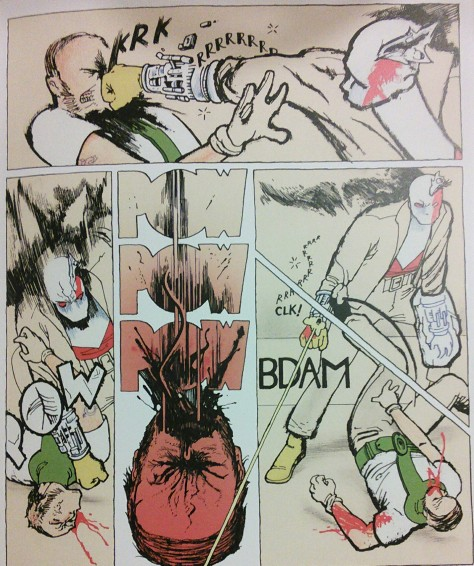 From Copra #21 by Michel Fiffe