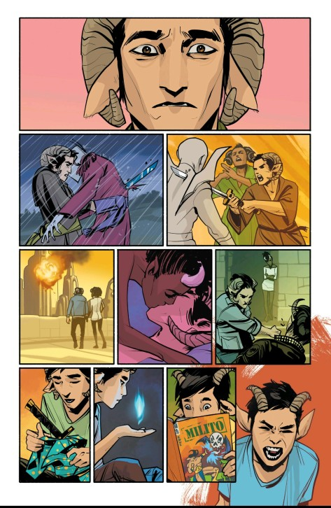 From Saga #27 by Fiona Staples