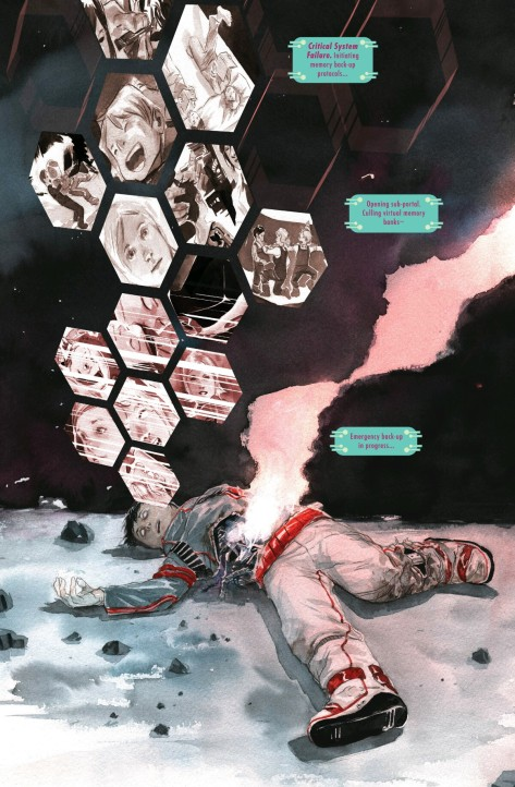 From Descender #2 by Dustin Nguyen