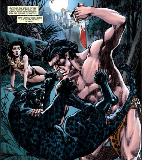 From Dark Horse Presents #9 by Mike Grell