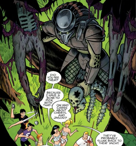 From Archie vs Predator #1 by Fernando Ruiz