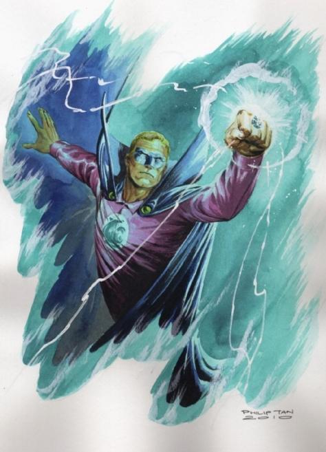 Green Lantern Golden Age Philip Tan