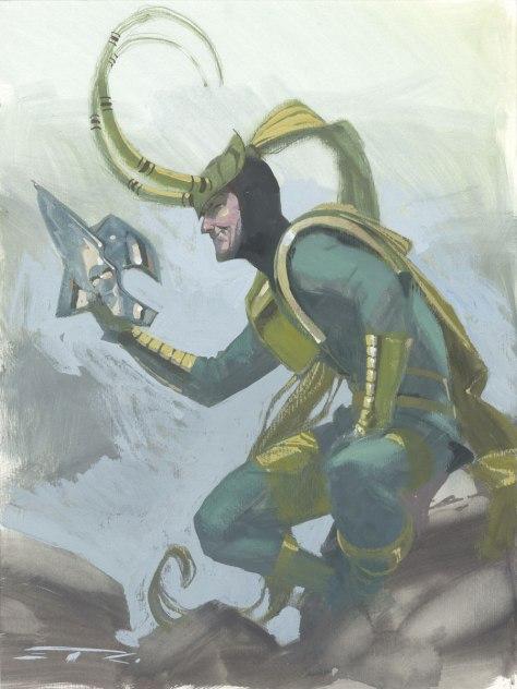 Loki (Walt Simonson era) Esad Ribic