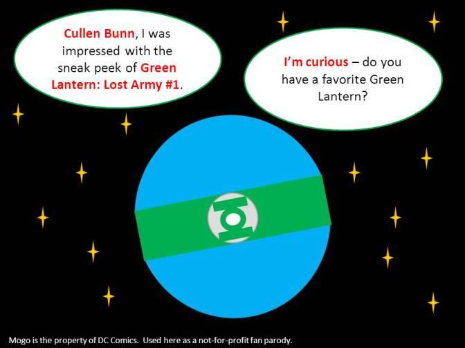 Mogo Asks Cullen Bunn About His Favorite Green Lantern
