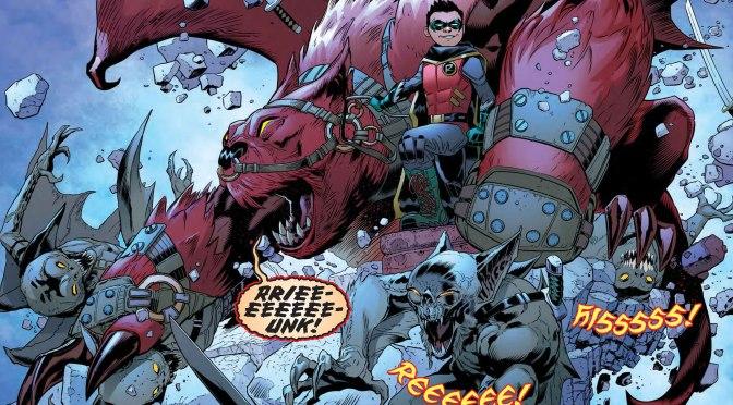 The Brain Asks Patrick Gleason About Robin:  Son of Batman