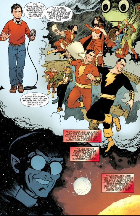 From Convergence: Shazam by Evan Doc Shaner