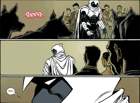 From Moon Knight #14 by Ron Ackins